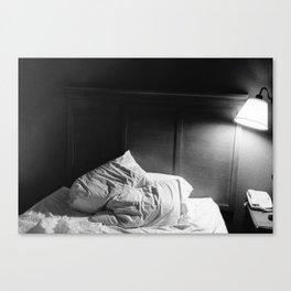 Restless Night Canvas Print