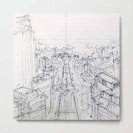 Views of West Philly Metal Print
