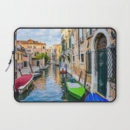 Watery Streets Venice, Italy Laptop Sleeve