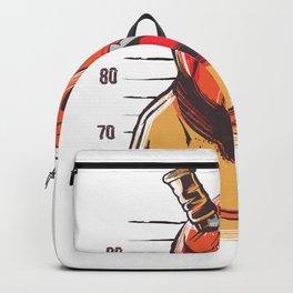 Prisoner pumpkin best gift Backpack