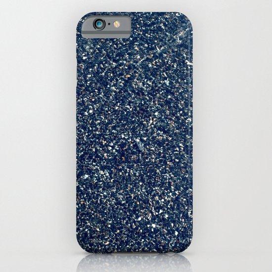 Black Sand II (Blue) iPhone & iPod Case