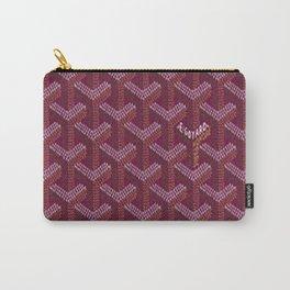Goyard Purple Carry-All Pouch