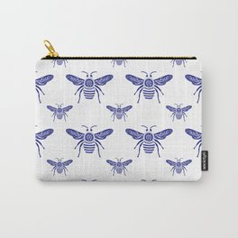 Blue Bee - Save The Bees Carry-All Pouch