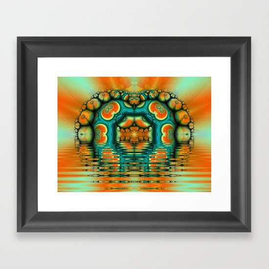 Tangerine Dreamz Framed Art Print