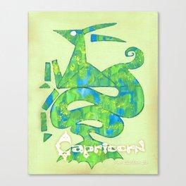 Capricorn Poster Canvas Print