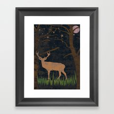 Glory of the Night Framed Art Print