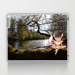Lakeside meditation Laptop & iPad Skin