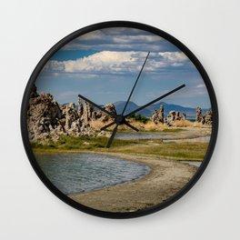 Mono Lake, California - III Wall Clock