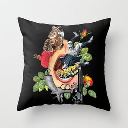 Throttled Infrastructure Throw Pillow