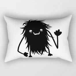 Cute Hairy Monster Rectangular Pillow