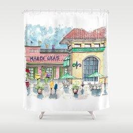 Mardi Gras NAwlins Shower Curtain