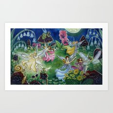 Fairy Ball Art Print