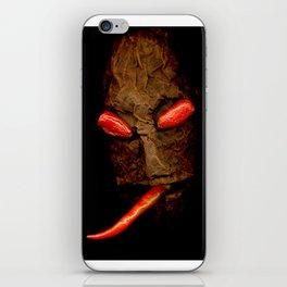 Copperhead mask_078 iPhone Skin