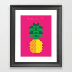 Fruit: Pineapple Framed Art Print
