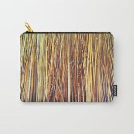 434 - Abstract grass design Carry-All Pouch