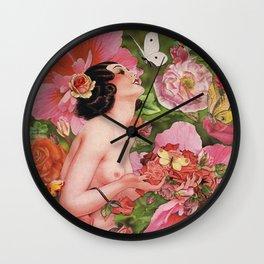 Rose Garden  Wall Clock