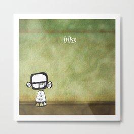 bliss Metal Print
