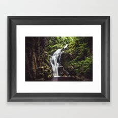 Wild Water Framed Art Print