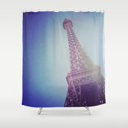 Faux Eiffel Shower Curtain