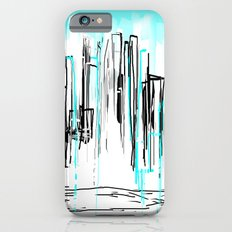 City Painted in Aqua iPhone 6s Slim Case