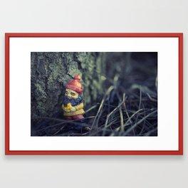 This Tree... Makes me happy... Framed Art Print
