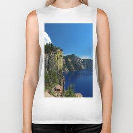 Crater Lake  and Lavacliffs Biker Tank