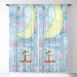 Reach for the Stars Sheer Curtain