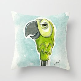 Just a Spoonful of Awesome Throw Pillow
