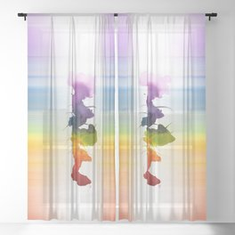 Little Chakra Tree Sheer Curtain
