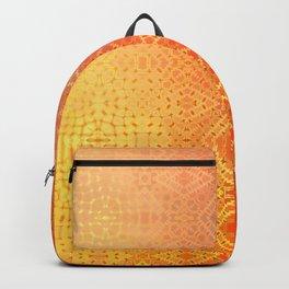 Diamonds Going On Forever (orange) Backpack