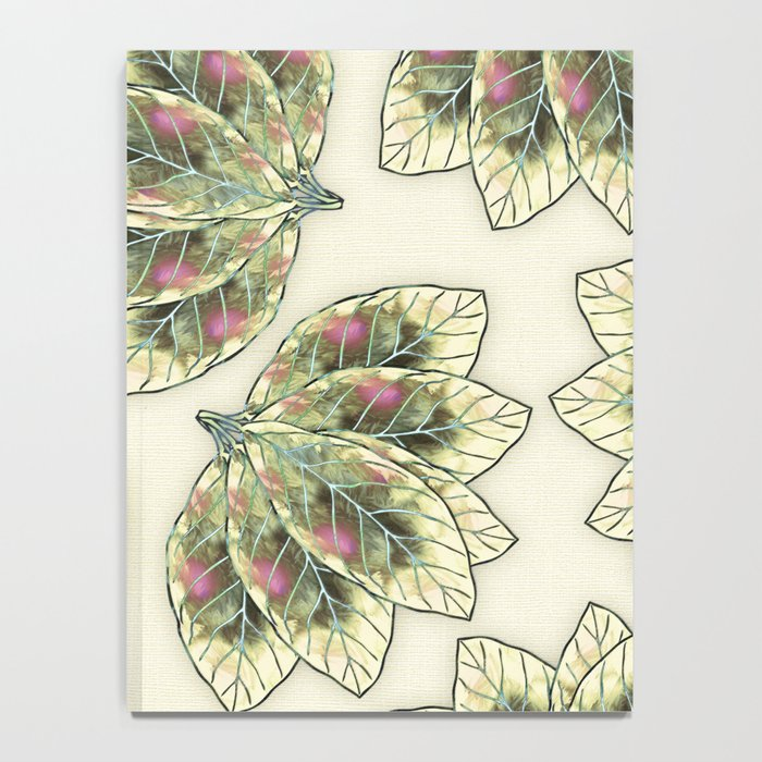 Colorful Leaves 4 Notebook