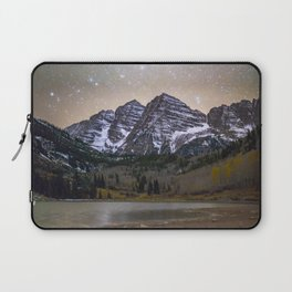 Stars over the Maroon Bells Laptop Sleeve