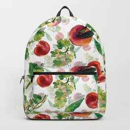 grapes and peaches Backpack
