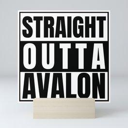 Straight Outta Avalon Supernatural Fairy Fairies Other Dimension Oz Mini Art Print
