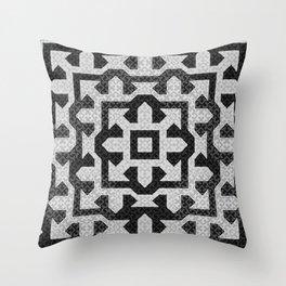 FRAMEofMIND pattern 01 Throw Pillow