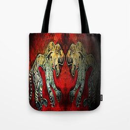 Scythian Tigers by Sheridon Rayment Tote Bag