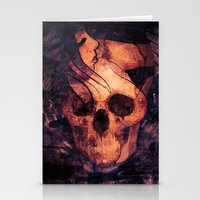 mortal instruments Stationery Cards featuring Mortal Sin by Sirenphotos