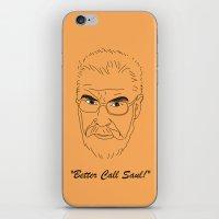 better call saul iPhone & iPod Skins featuring Better Call Saul Berenson by FENNIKEL