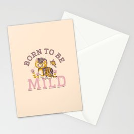 Born To Be Mild (Dusty Pink) Stationery Cards