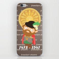Francisco Pizarro iPhone & iPod Skin