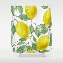 Life Giving You Lemons Shower Curtain