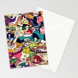 Urban Camo Pattern Stationery Cards