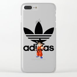 Dragon ball Adida Clear iPhone Case
