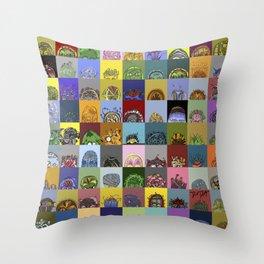 MOODHEADS - 81comp - www.moodheads.com Throw Pillow