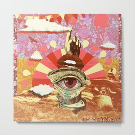 AFTERNOON PSYCHEDELIA REDUX Metal Print
