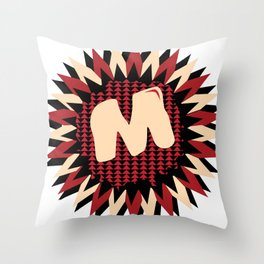 Moulded Rides Puzzle M Throw Pillow