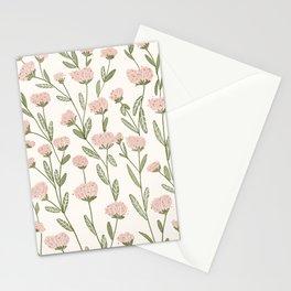 Rose Garden Pattern Stationery Cards