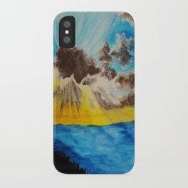 Beach 2 iPhone Case