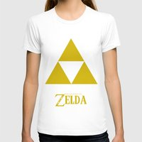 triforce T-shirts featuring Triforce by Jynxit