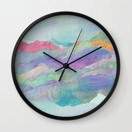 Everything Beautiful- Mountain Wall Clock